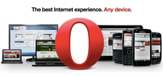 Opera, the fastest and most secure web browser